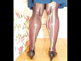 TGirl Food Fetish Legs 286