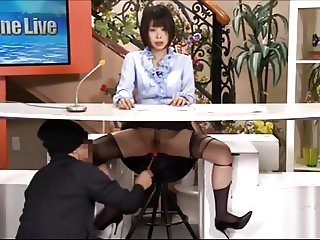 asian newsreader