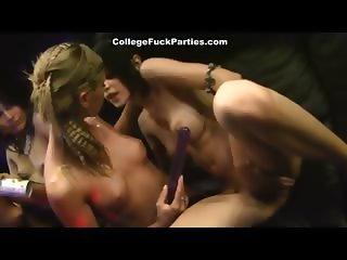 Hot lesbian party