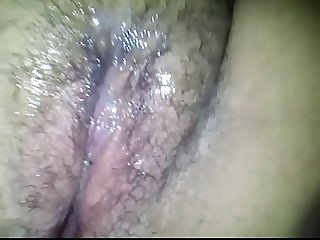 Fucking My Hairy BBW GF Part 2 With Cumshot on her Pussy