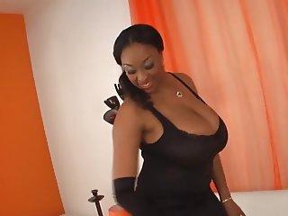 black busty slut