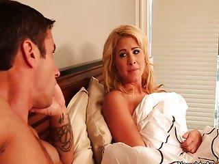Jessica Nyx fucks friends husbands big cock