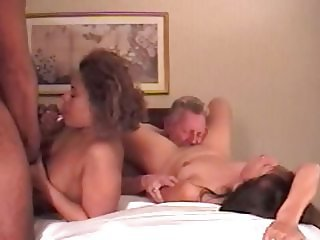 Two couples at swingfest final part