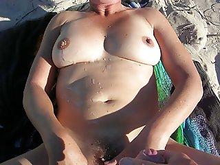 beach cumshot