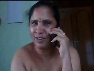 Telugu ladies jerking a cock and talking sexy on the phone