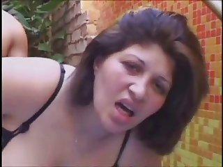 Chubby milf anal