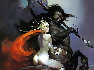 Erotic Fantasy Art 3 Frank Frazetta