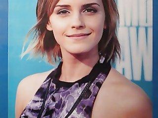 Emma Watson Cum Tribute Bukkake No.3