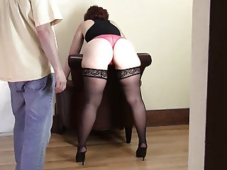 Spanking Lisette 039 s FAT ASS