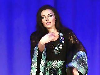 Alla Kushnir sexy Belly Dance part 17