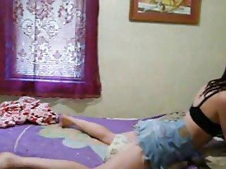 Amateur Webcam Girl Humping