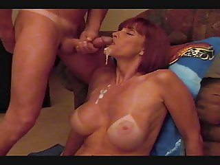 Busty Milf Twyla 039 s home movie Facial. Chin Ornaments