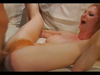 Redhead Mature Annie 039 s Hairy Pussy Squirts With Pleasure