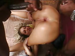 Hot DP Anal Action Scene