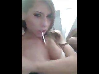 hot blonde girl amateur
